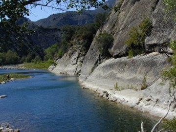 Unique adventure red rocks of the santa ynez river at the head of the first large pool on the santa ynez river freerunsca Gallery