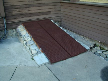 Exterior Basement Access Doors
