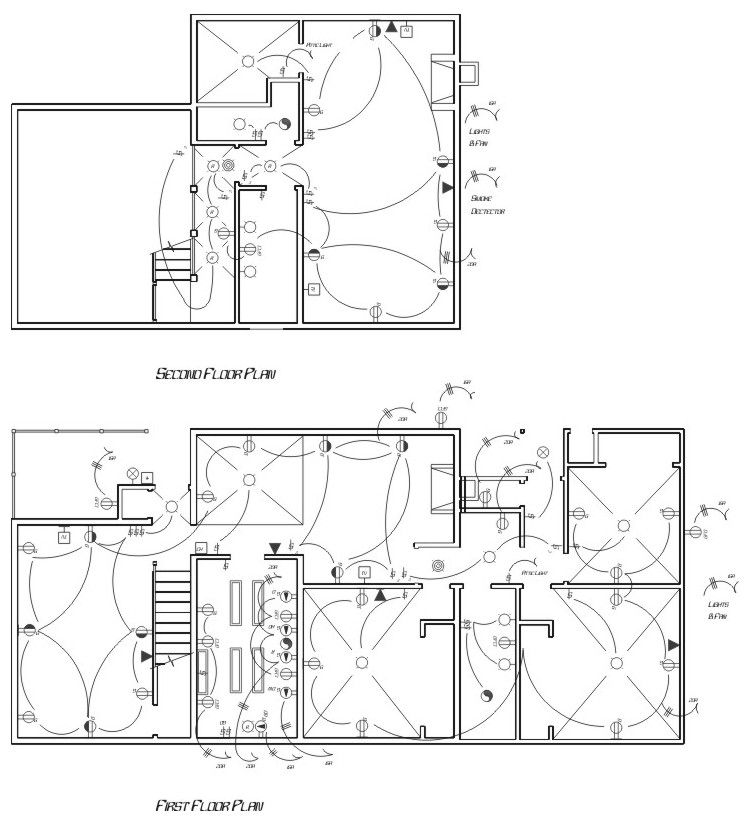 Unique design lab electrical plan for House electrical design