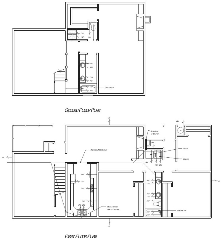 House plumbing plans 28 images scintillating house for Plumbing blueprints for my house