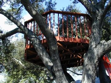 Unique Design Lab Octagonal Treehouse