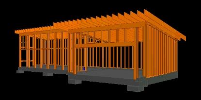 Pole barn garage plans flat roof joy studio design for Flat roof garage plans